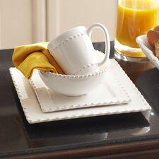 Milford 16-Piece Dinnerware Set, Square