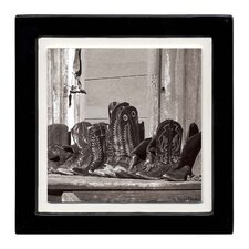 Resting Boots Ambiance Coaster Set (Set of 4)