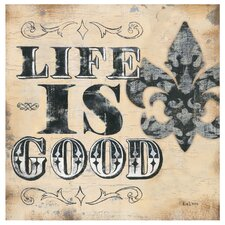 Life is Good FDL Occasions Coasters Set (Set of 4)