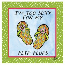 Too Sexy for My Flip Flops Occasions Coasters Set (Set of 4)