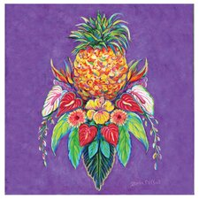 Welcome Pineapple I Occasions Coasters Set (Set of 4)