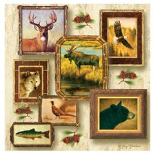 Wildlife II Occasions Coasters Set (Set of 4)