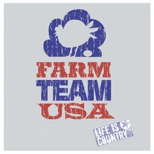 Farm Team USA Occasions Coasters Set (Set of 4)