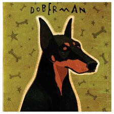 Doberman Pinscher Occasions Coaster Set (Set of 4)