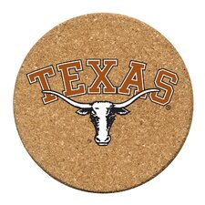 University of Texas Cork Collegiate Coaster Set (Set of 6)