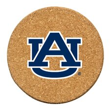 Auburn University Cork Collegiate Coaster Set (Set of 6)