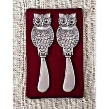 Owl Spreader (Set of 2)