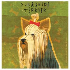 Yorkshire Terrier Occasions Coasters Set (Set of 4)