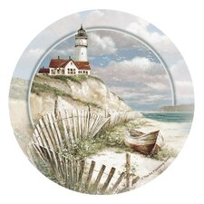 Beach Lighthouse Occasions Coaster (Set of 4)
