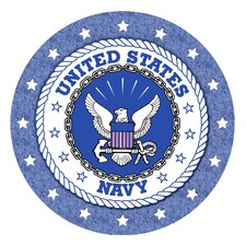 Navy Occasions Coaster (Set of 4)