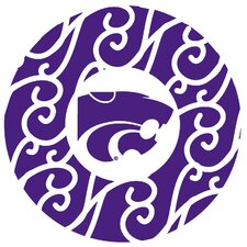 Kansas State University Swirls Collegiate Coaster (Set of 4)