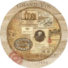 Nostalgic Wine Labels Coaster (Set of 4)