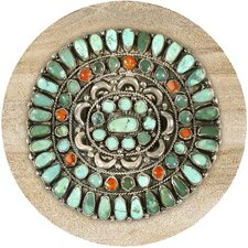 Turquoise Medallion Coaster (Set of 4)