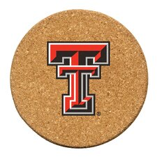 Texas Tech University Cork Collegiate Coaster Set (Set of 6)