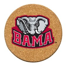 University of Alabama Cork Collegiate Coaster Set (Set of 6)