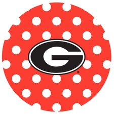 University of Georgia Dots Collegiate Coaster (Set of 4)