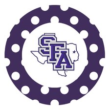Stephen F Austin University Dots Collegiate Coaster (Set of 4)