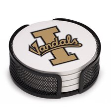 5 Piece University of Idaho Collegiate Coaster Gift Set