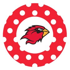 Lamar University Dots Collegiate Coaster (Set of 4)