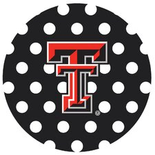 Texas Tech University Dots Collegiate Coaster (Set of 4)