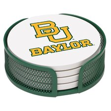 5 Piece Baylor University Collegiate Coaster Gift Set