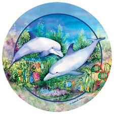 Dolphin Duo Occasions Coaster (Set of 4)