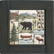 <strong>Thirstystone</strong> Lodge Cabin Fever Ambiance Coaster Set (Set of 4)