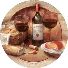 Wine & Cheese Coaster (Set of 4)