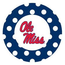 University of Mississippi Dots Collegiate Coaster (Set of 4)