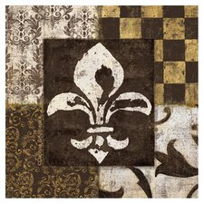 Fleur de Lis Occasions Coasters Set (Set of 4)