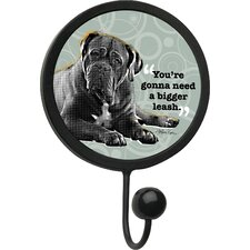 Stronger Leash Round Wall Hook
