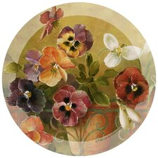 Pansies Occasions Coaster (Set of 4)