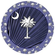 Navy Blue Palmetto Occasions Coaster (Set of 4)