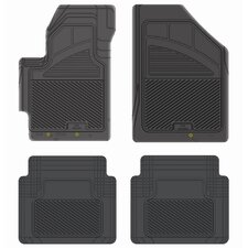 Kustom Fit  Precision All Weather Car Mat for Hyundai Accent 2006+