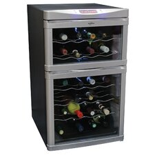 <strong>Koolatron</strong> 24-Bottle Dual Zone Wine Refrigerator