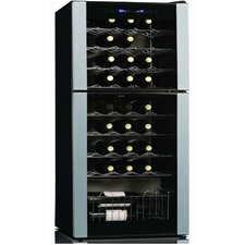 45 Bottle Dual Zone Thermoelectric Wine Refrigerator