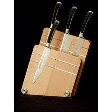 Magnetic Double Knife Block