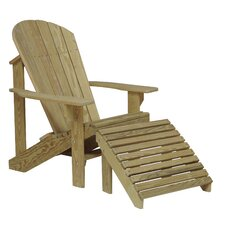<strong>Hershy Way</strong> Adirondack Chair and Ottoman