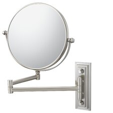 Mirror Image Classic Double Arm Wall Mirror