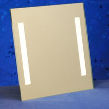 "<strong>ClearMirror</strong> Clear 12"" H x 12"" W Shower Lite Wall Mirror"