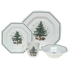 Christmastime 4 Piece Place Setting