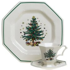 Christmastime 12 Piece Dinnerware Set