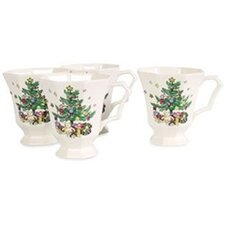 <strong>Nikko Ceramics</strong> Christmastime 13 oz. Mug (Set of 4)