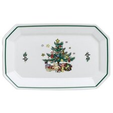 <strong>Nikko Ceramics</strong> Christmastime Relish Serving Tray