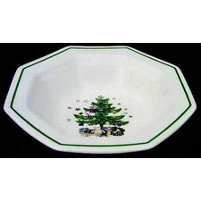 "Christmastime 9"" Vegetable Bowl"