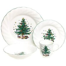 Happy Holidays 4 Piece Place Setting
