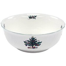 "Happy Holidays 8.5"" Salad Bowl"
