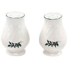 Happy Holidays Salt and Pepper Set