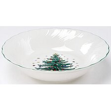 "Happy Holidays 9.5"" Vegetable Bowl"