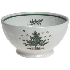 Christtmas Dinnerware Nut Bowl